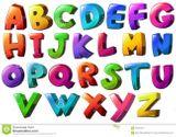 Imprimer le dessin en couleurs : Alphabet, numéro c1d5eafc