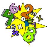 Imprimer le dessin en couleurs : Chiffre quatre, numéro 12715