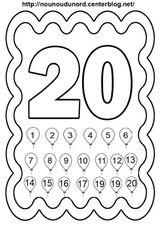 Imprimer le coloriage : Chiffre un, numéro 4257ad20