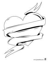 Imprimer le coloriage : Coeur, numéro 128714