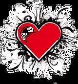 Imprimer le dessin en couleurs : Coeur, numéro 157016
