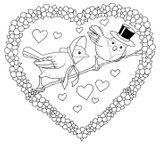 Imprimer le coloriage : Coeur, numéro 16764