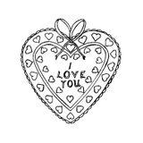 Imprimer le coloriage : Coeur, numéro 17017