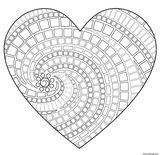 Imprimer le coloriage : Coeur, numéro 178618a9