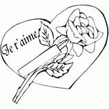 Imprimer le dessin en couleurs : Coeur, numéro 19397