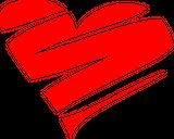 Imprimer le dessin en couleurs : Coeur, numéro 20959