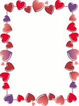 Imprimer le dessin en couleurs : Coeur, numéro 20967