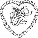 Imprimer le coloriage : Coeur, numéro 3615