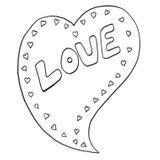 Imprimer le coloriage : Coeur, numéro 3616