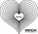 Imprimer le coloriage : Coeur, numéro 3626