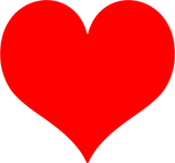Imprimer le dessin en couleurs : Coeur, numéro 3b485ffe