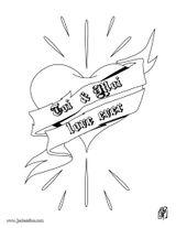 Imprimer le coloriage : Coeur, numéro 5352