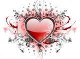 Imprimer le dessin en couleurs : Coeur, numéro 580363