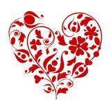 Imprimer le dessin en couleurs : Coeur, numéro 621722