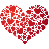 Imprimer le dessin en couleurs : Coeur, numéro 626524