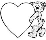 Imprimer le coloriage : Coeur, numéro 7294