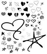 Imprimer le coloriage : Coeur, numéro 7301