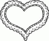 Imprimer le coloriage : Coeur, numéro 7610
