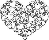 Imprimer le coloriage : Coeur, numéro 763f9d87