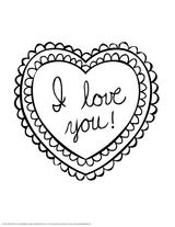 Imprimer le coloriage : Coeur, numéro a79cd0e0