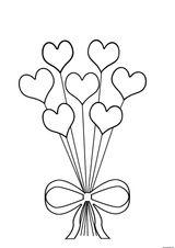 Imprimer le coloriage : Coeur, numéro cc636a4b