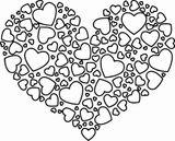 Imprimer le coloriage : Coeur, numéro ec611e8d