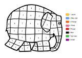 Imprimer le coloriage : Coloriages magiques, numéro 576031