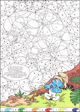 Imprimer le dessin en couleurs : Coloriages magiques, numéro 579869