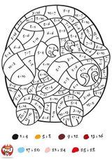 Imprimer le dessin en couleurs : Coloriages magiques, numéro 579900