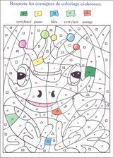 Imprimer le dessin en couleurs : Coloriages magiques, numéro 597961