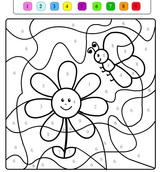 Imprimer le dessin en couleurs : Coloriages magiques, numéro 611443