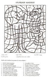 Imprimer le coloriage : Coloriages magiques, numéro 679b87c0