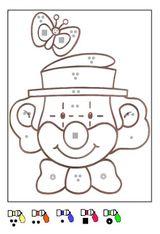 Imprimer le dessin en couleurs : Coloriages magiques, numéro 689780