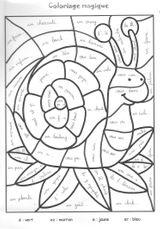 Imprimer le coloriage : Coloriages magiques, numéro 899e2910