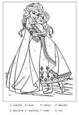 Imprimer le coloriage : Coloriages magiques, numéro 9f898cf5