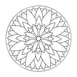 Imprimer le coloriage : Mandalas, numéro 668c034e