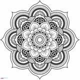 Imprimer le coloriage : Mandalas, numéro 6d05919b