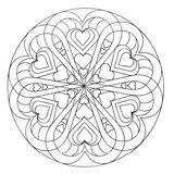 Imprimer le coloriage : Mandalas, numéro 98390a5f