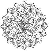 Imprimer le coloriage : Mandalas, numéro 9e1dbd68