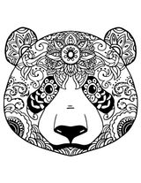 Imprimer le coloriage : Mandalas, numéro ad31e350