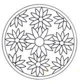 Imprimer le coloriage : Mandalas, numéro ea15500c