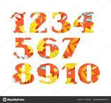 Imprimer le dessin en couleurs : Tous les chiffres, numéro 301f753e