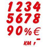 Imprimer le dessin en couleurs : Tous les chiffres, numéro 4a3c60c