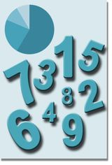 Imprimer le dessin en couleurs : Tous les chiffres, numéro 597809