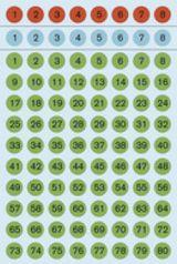 Imprimer le dessin en couleurs : Tous les chiffres, numéro 597815