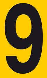 Imprimer le dessin en couleurs : Tous les chiffres, numéro 670930