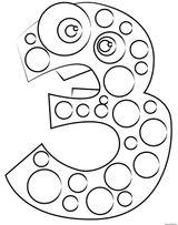 Imprimer le coloriage : Chiffre 7, numéro ac74e91