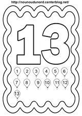 Imprimer le coloriage : Chiffre 7, numéro f295b600