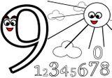Imprimer le coloriage : Chiffre 9, numéro b162156d