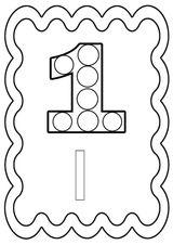 Imprimer le coloriage : Nombre 10, numéro fcbbb4b6